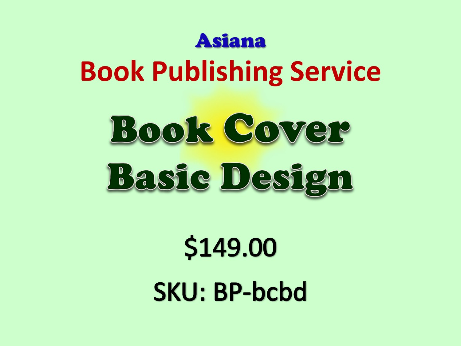 Book Cover Design From East Asia ~ Book cover basic design asiana publishing llc