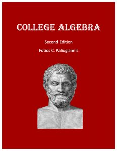 COLLEGE ALGEBRA-Front Cover 2017